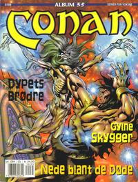 Cover Thumbnail for Conan album (Bladkompaniet / Schibsted, 1992 series) #35 - Gylne skygger