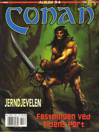Cover Thumbnail for Conan album (Bladkompaniet / Schibsted, 1992 series) #34 - Festningen ved tidens port