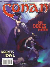 Cover Thumbnail for Conan album (Bladkompaniet / Schibsted, 1992 series) #33 - Mørkets dal