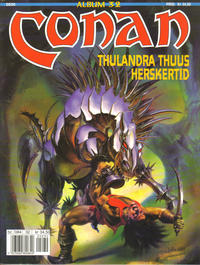 Cover Thumbnail for Conan album (Bladkompaniet, 1992 series) #32 - Thulandra Thuus herskertid