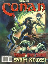 Cover Thumbnail for Conan album (Bladkompaniet, 1992 series) #31 - Hauker over Shem!