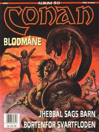 Cover Thumbnail for Conan album (Bladkompaniet, 1992 series) #30 - Blodmåne