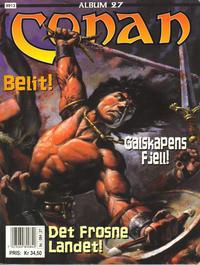 Cover Thumbnail for Conan album (Bladkompaniet / Schibsted, 1992 series) #27 - Galskapens fjell