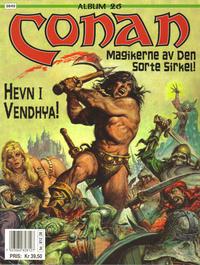 Cover Thumbnail for Conan album (Bladkompaniet / Schibsted, 1992 series) #26 - Magikerne av den sorte sirkel