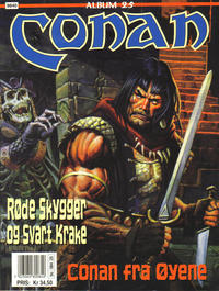 Cover Thumbnail for Conan album (Bladkompaniet / Schibsted, 1992 series) #25 - Conan fra Øyene