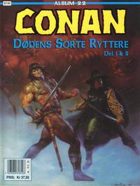 Cover Thumbnail for Conan album (Bladkompaniet / Schibsted, 1992 series) #22 - Dødens sorte ryttere