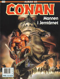 Cover Thumbnail for Conan album (Bladkompaniet / Schibsted, 1992 series) #21 - Mannen i jerntårnet