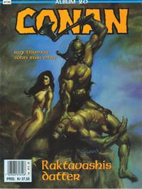 Cover Thumbnail for Conan album (Bladkompaniet / Schibsted, 1992 series) #20 - Raktavashis datter