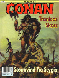 Cover Thumbnail for Conan album (Bladkompaniet / Schibsted, 1992 series) #19 - Tranicos skatt