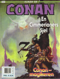 Cover Thumbnail for Conan album (Bladkompaniet / Schibsted, 1992 series) #18 - En cimmerianers sjel