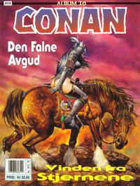 Cover Thumbnail for Conan album (Bladkompaniet / Schibsted, 1992 series) #16 - Den falne avgud