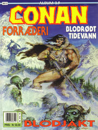 Cover Thumbnail for Conan album (Bladkompaniet / Schibsted, 1992 series) #15 - Blodjakt