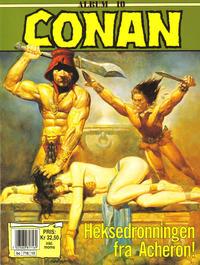 Cover Thumbnail for Conan album (Bladkompaniet / Schibsted, 1992 series) #10 - Heksedronningen fra Acheron!