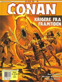 Cover Thumbnail for Conan album (Bladkompaniet / Schibsted, 1992 series) #9 - Krigere fra framtiden