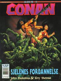 Cover for Conan album (Bladkompaniet / Schibsted, 1992 series) #8 - Sjelenes forbannelse