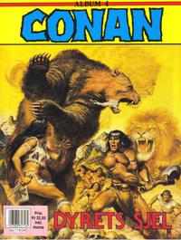 Cover Thumbnail for Conan album (Bladkompaniet / Schibsted, 1992 series) #4 - Dyrets sjel