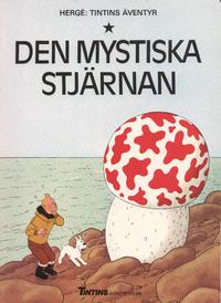 Cover Thumbnail for Tintins äventyr (Nordisk bok, 1984 ? series) #[4296] - Den mystiska stjärnan