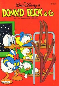 Cover Thumbnail for Donald Duck & Co (Hjemmet / Egmont, 1948 series) #1/1983