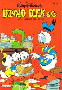Cover Thumbnail for Donald Duck & Co (Hjemmet / Egmont, 1948 series) #5/1983