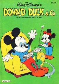 Cover Thumbnail for Donald Duck & Co (Hjemmet / Egmont, 1948 series) #8/1983