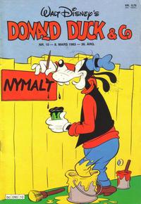 Cover Thumbnail for Donald Duck & Co (Hjemmet / Egmont, 1948 series) #10/1983