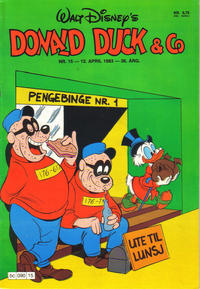 Cover Thumbnail for Donald Duck & Co (Hjemmet / Egmont, 1948 series) #15/1983
