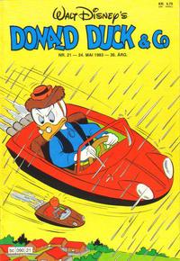 Cover Thumbnail for Donald Duck & Co (Hjemmet / Egmont, 1948 series) #21/1983