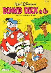 Cover Thumbnail for Donald Duck & Co (Hjemmet / Egmont, 1948 series) #23/1983