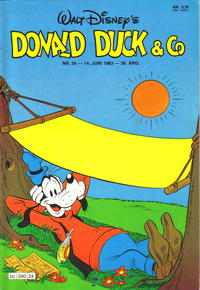 Cover Thumbnail for Donald Duck & Co (Hjemmet / Egmont, 1948 series) #24/1983
