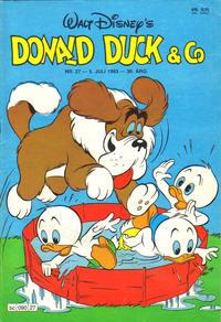 Cover Thumbnail for Donald Duck & Co (Hjemmet / Egmont, 1948 series) #27/1983