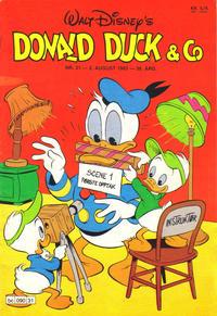 Cover Thumbnail for Donald Duck & Co (Hjemmet / Egmont, 1948 series) #31/1983