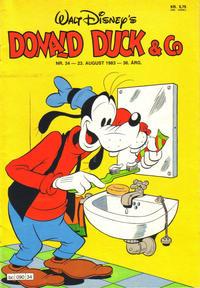 Cover Thumbnail for Donald Duck & Co (Hjemmet / Egmont, 1948 series) #34/1983