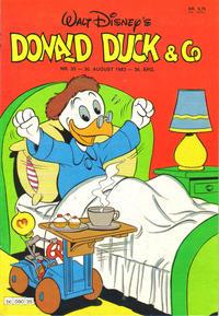 Cover Thumbnail for Donald Duck & Co (Hjemmet / Egmont, 1948 series) #35/1983