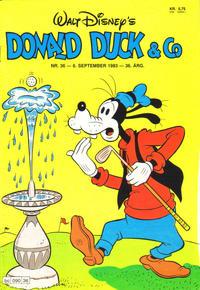 Cover Thumbnail for Donald Duck & Co (Hjemmet / Egmont, 1948 series) #36/1983