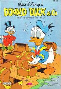Cover Thumbnail for Donald Duck & Co (Hjemmet / Egmont, 1948 series) #37/1983