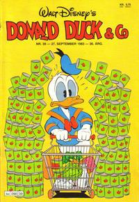 Cover Thumbnail for Donald Duck & Co (Hjemmet / Egmont, 1948 series) #39/1983