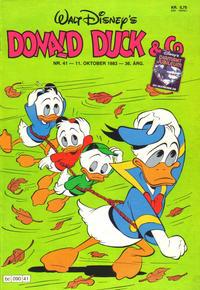 Cover Thumbnail for Donald Duck & Co (Hjemmet / Egmont, 1948 series) #41/1983