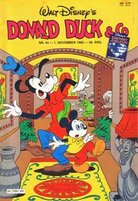 Cover Thumbnail for Donald Duck & Co (Hjemmet / Egmont, 1948 series) #44/1983