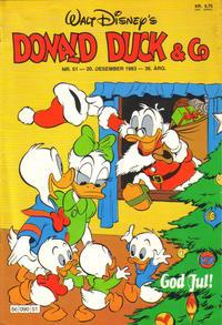 Cover Thumbnail for Donald Duck & Co (Hjemmet / Egmont, 1948 series) #51/1983