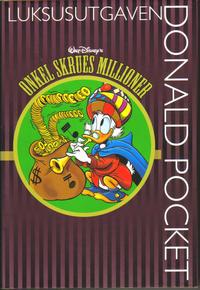 Cover Thumbnail for Donald Pocket Luksusutgaven (Hjemmet / Egmont, 2008 series) #1 - Onkel Skrues millioner