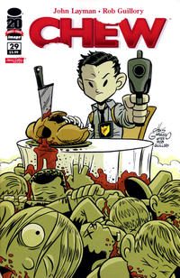 Cover Thumbnail for Chew (Image, 2009 series) #29 [Variant Cover by Chris Giarrusso]