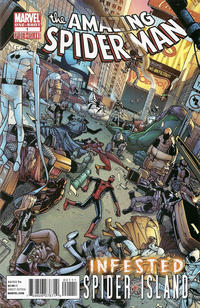 Cover Thumbnail for Amazing Spider-Man: Infested (Marvel, 2011 series) #1