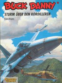 Cover Thumbnail for Buck Danny (Carlsen Comics [DE], 1989 series) #42 - Sturm über den Kordilleren
