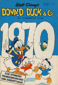 Cover Thumbnail for Donald Duck & Co (Hjemmet / Egmont, 1948 series) #1/1970