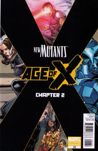 Cover Thumbnail for New Mutants (Marvel, 2009 series) #22 [Second Printing]