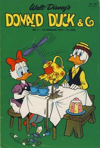 Cover Thumbnail for Donald Duck & Co (Hjemmet / Egmont, 1948 series) #7/1970