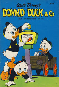 Cover Thumbnail for Donald Duck & Co (Hjemmet / Egmont, 1948 series) #9/1970