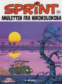 Cover Thumbnail for Sprint [Seriesamlerklubben] (Hjemmet / Egmont, 1998 series) #20 - Amuletten fra Nikokolokoba