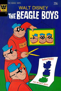 Cover Thumbnail for Walt Disney The Beagle Boys (Western, 1964 series) #20 [Whitman edition]