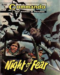 Cover Thumbnail for Commando (D.C. Thomson, 1961 series) #984